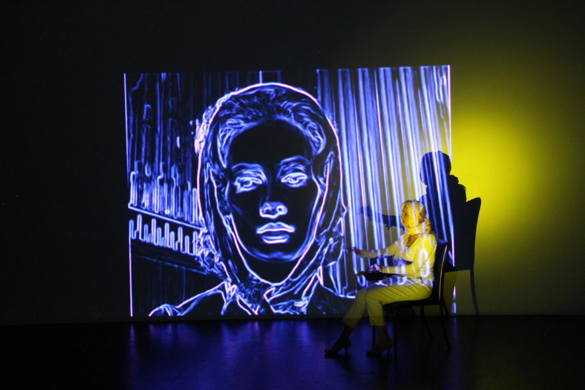 CARNIVAL OF SOULS: neon animation + live action – Annemarie