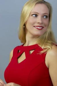 ER Annemarie red dress